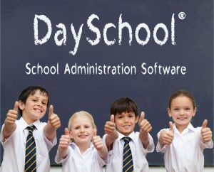 DaySchool students giving a thumbs up.
